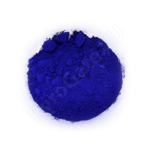 Organic powder - blue dye