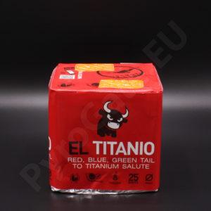 25 shots - EL TITANIO cake